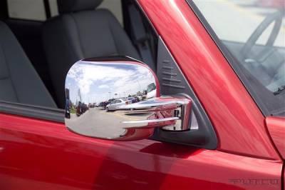 Liberty - Mirrors - Putco - Jeep Liberty Putco Mirror Overlays - 402016