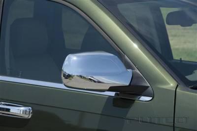 Grand Cherokee - Mirrors - Putco - Jeep Grand Cherokee Putco Mirror Overlays - 402021