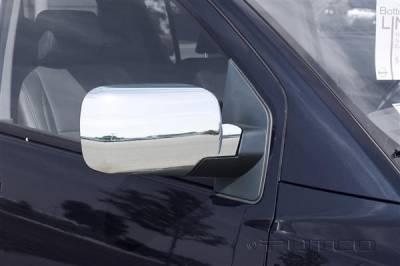 Titan - Mirrors - Putco - Nissan Titan Putco Mirror Overlays - 402023