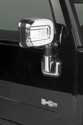 H2 - Mirrors - Putco - Hummer H2 Putco Mirror Overlays - 402025
