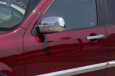 Yaris - Mirrors - Putco - Toyota Yaris Putco Mirror Overlays - 402140