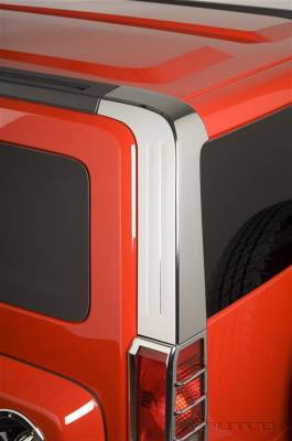 H3 - Body Kit Accessories - Putco - Hummer H3 Putco Decorative Classic Pillar Posts without Accents - 402311