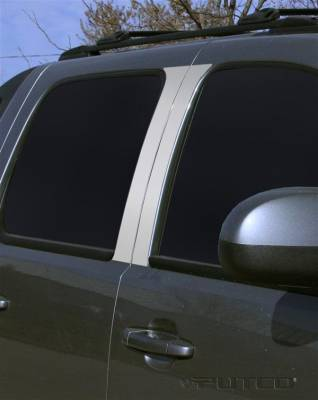 Avalanche - Body Kit Accessories - Putco - Chevrolet Avalanche Putco Decorative Classic Pillar Posts without Accents - 402609
