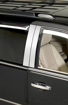 Escalade - Body Kit Accessories - Putco - Cadillac Escalade Putco Decorative Classic Pillar Posts without Accents - 402610