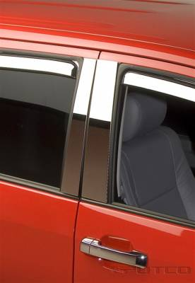 Tundra - Body Kit Accessories - Putco - Toyota Tundra Putco Decorative Classic Pillar Posts without Accents - 402620