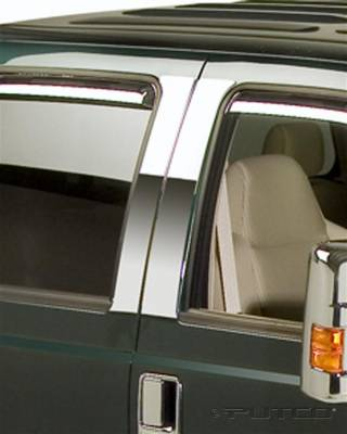 F350 - Body Kit Accessories - Putco - Ford F350 Superduty Putco Decorative Classic Pillar Posts without Accents - 402621