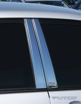 Corolla - Body Kit Accessories - Putco - Toyota Corolla Putco Decorative Classic Pillar Posts without Accents - 403115