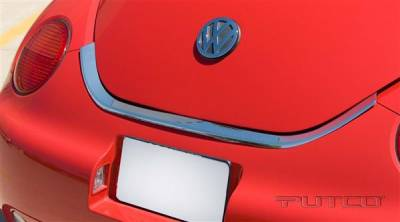 Beetle - Body Kit Accessories - Putco - Volkswagen Beetle Putco Chrome Trunk Lid Cover - 403622