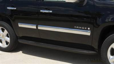 Tahoe - Body Kit Accessories - Putco - Chevrolet Tahoe Putco Body Side Molding - ABS Plastic - 403660