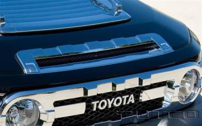 FJ Cruiser - Body Kit Accessories - Putco - Toyota FJ Cruiser Putco Chrome Front Hood Scoop - 403914