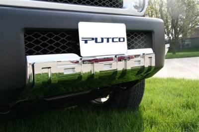 FJ Cruiser - Front Bumper - Putco - Toyota FJ Cruiser Putco Chrome Front Apron Cover - 404209