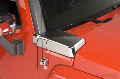 H3 - Body Kit Accessories - Putco - Hummer H3 Putco Chrome Air Intake Cover - 404506
