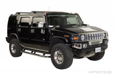 H2 - Body Kit Accessories - Putco - Hummer H2 Putco Exterior Chrome Accessory Kit - 405007