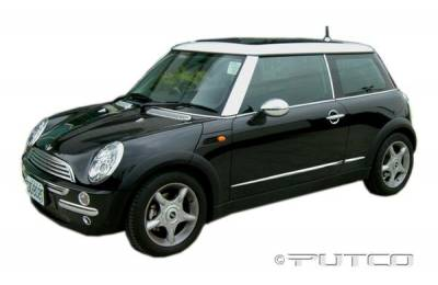 Cooper - Body Kit Accessories - Putco - Mini Cooper Putco Exterior Chrome Accessory Kit - 405053