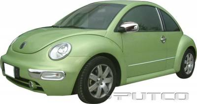 Beetle - Body Kit Accessories - Putco - Volkswagen Beetle Putco Exterior Chrome Accessory Kit - 405055