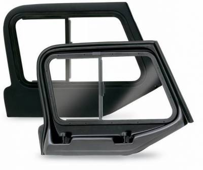 Wrangler - Body Kit Accessories - Rampage - Jeep Wrangler Rampage Front Door Top Slider - 919335