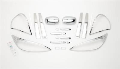 Camry - Body Kit Accessories - Putco - Toyota Camry Putco Exterior Chrome Accessory Kit - 405064