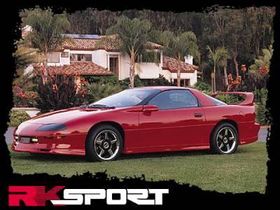 Camaro - Rear Add On - RK Sport - Chevrolet Camaro RK Sport CA-100 Rear Valance - 1011003