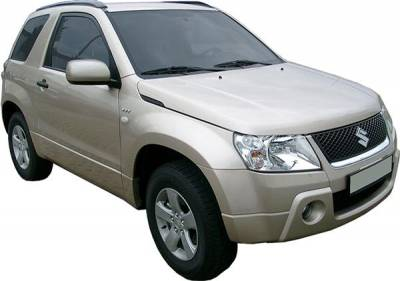 Grand Vitara - Body Kit Accessories - Putco - Suzuki Grand Vitara Putco Exterior Chrome Accessory Kit - 405078