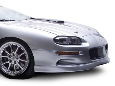 Camaro - Hoods - RKSport - Chevrolet Camaro RKSport RK Competition Ram Air Hood with Carbon Fiber Blister - 01011105