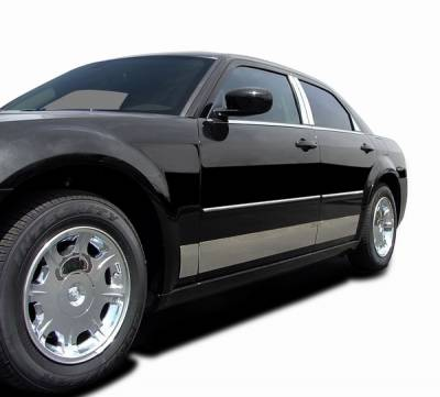 Cougar - Body Kit Accessories - ICI - Mercury Cougar ICI Rocker Panels - 6PC - C1322 -304M