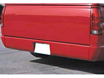Suv Truck Accessories - Roll Pans - Sir Michaels - Rollpan with License Plate - Bolt On - 2476101