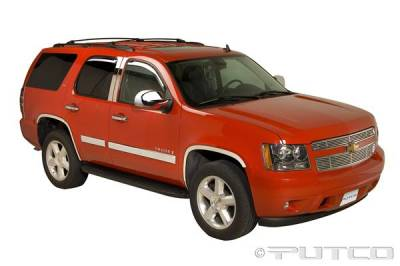 Tahoe - Body Kit Accessories - Putco - Chevrolet Tahoe Putco Exterior Chrome Accessory Kit - 405607