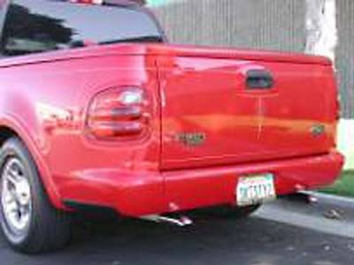 Suv Truck Accessories - Roll Pans - Sir Michaels - Rollpan with Fiberglass End Caps and License Plate - Bolt On - 2577101