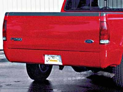 Suv Truck Accessories - Roll Pans - Sir Michaels - Rollpan with Fiberglass End Caps and License Plate - Bolt On - 2677101