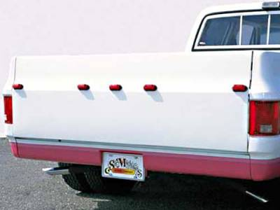 Suv Truck Accessories - Roll Pans - Sir Michaels - Rollpan with License Plate - Bolt On - 2776101