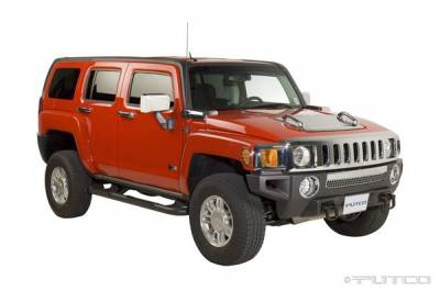 H3 - Body Kit Accessories - Putco - Hummer H3 Putco Exterior Chrome Accessory Kit - 405638