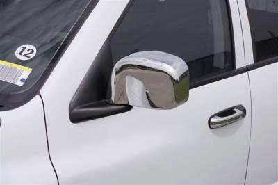 Elantra - Mirrors - Putco - Hyundai Elantra Putco Mirror Overlays - 408401