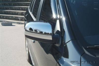 Santa Fe - Mirrors - Putco - Hyundai Santa Fe Putco Mirror Overlays - 408501