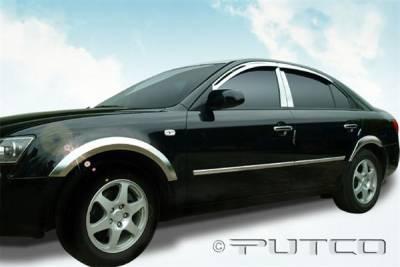 Sonata - Body Kit Accessories - Putco - Hyundai Sonata Putco Chrome Fender Molding - 408612