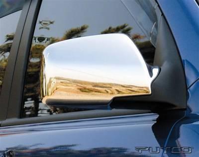 Sportage - Mirrors - Putco - Kia Sportage Putco Mirror Overlays - 409101