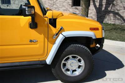 H2 - Body Kit Accessories - Putco - Hummer H2 Putco ABS Fender Trim - Paint to Match - 497008