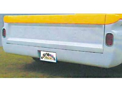 Suv Truck Accessories - Roll Pans - Sir Michaels - Rollpan with License Plate - Bolt On - 2976201