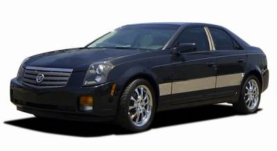 CTS - Body Kit Accessories - ICI - Cadillac CTS ICI Rocker Panels - 6PC - C0537-304M