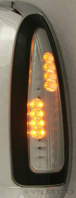 F350 - Mirrors - Putco - Ford F350 Superduty Putco LED Mirror Replacements - Smoke - 920306