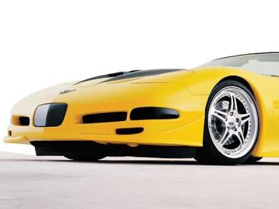 Corvette - Body Kit Accessories - RKSport - Chevrolet Corvette RKSport RK5 Front Canards - Pair - 04011001