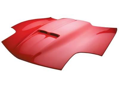 Corvette - Hoods - RKSport - Chevrolet Corvette RKSport Ram Air Hood - 04011008