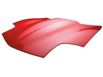 Corvette - Hoods - RKSport - Chevrolet Corvette RKSport Corvette High Rise Hood - 04011110