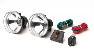 Headlights & Tail Lights - Fog Lights - Rampage - Jeep Wrangler Rampage Fog Lamp Kit - Recovery Bumper - Front & Rear - 5083059