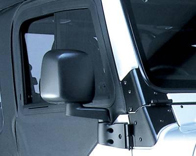 Wrangler - Mirrors - Omix - Rugged Ridge Factory Style Mirror - 11002-11