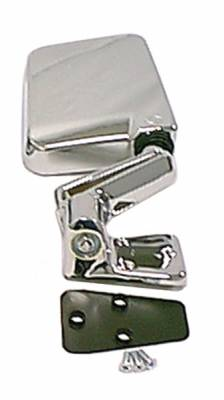 Wrangler - Mirrors - Omix - Rugged Ridge Factory Style Mirror - Chrome Plastic - 11010-07