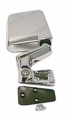 Wrangler - Mirrors - Omix - Rugged Ridge Factory Style Mirror - Chrome Plastic - 11010-07