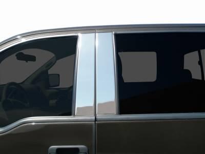 Suburban - Body Kit Accessories - ICI - Chevrolet Suburban ICI Pillar Post - 8PC - CS44-304M