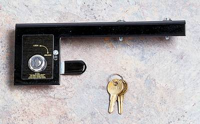 Wrangler - Hoods - Omix - Rugged Ridge Hood Lock Kit - No-Drill - Comes with 2 Keys - 11252-02