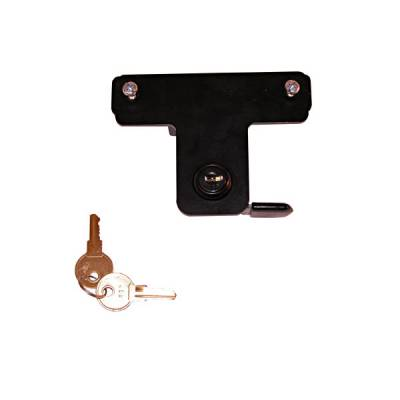 Wrangler - Hoods - Omix - Rugged Ridge Hood Lock Kit - No-Drill - Comes with 2 Keys - 11252-05