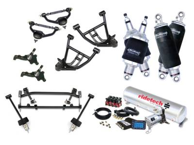 Suspension - Air Suspension Kits - RideTech by Air Ride - Chevrolet Camaro RideTech Level 2 Air Suspension System - 11160299